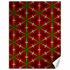 Textured Background Christmas Pattern Canvas 18  X 24   by Celenk