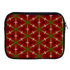 Textured Background Christmas Pattern Apple Ipad 2/3/4 Zipper Cases by Celenk