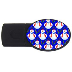 Seamless Repeat Repeating Pattern Usb Flash Drive Oval (2 Gb) by Celenk