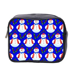 Seamless Repeat Repeating Pattern Mini Toiletries Bag 2 Side