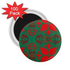 Christmas Background 2 25  Magnets (100 Pack)  by Celenk