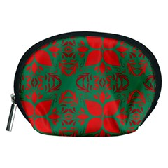 Christmas Background Accessory Pouches (medium)  by Celenk