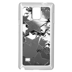 Background Celebration Christmas Samsung Galaxy Note 4 Case (white) by Celenk