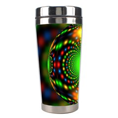 Christmas Ornament Fractal Stainless Steel Travel Tumblers by Celenk