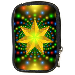 Christmas Star Fractal Symmetry Compact Camera Cases
