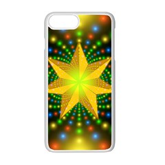 Christmas Star Fractal Symmetry Apple Iphone 7 Plus Seamless Case (white)