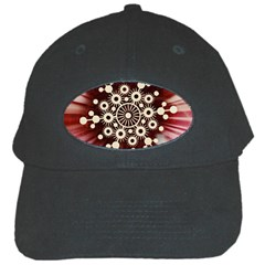 Background Star Red Abstract Black Cap by Celenk