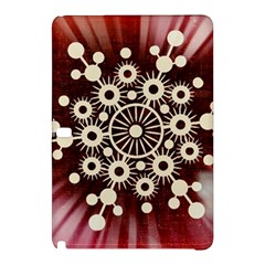 Background Star Red Abstract Samsung Galaxy Tab Pro 12 2 Hardshell Case by Celenk