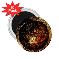 Christmas Bauble Ball About Star 2 25  Magnets (10 Pack)  by Celenk