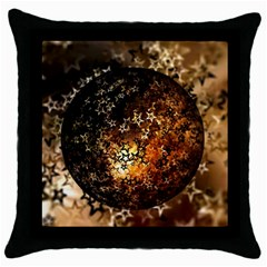 Christmas Bauble Ball About Star Throw Pillow Case (black) by Celenk
