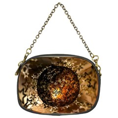 Christmas Bauble Ball About Star Chain Purses (two Sides)