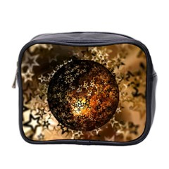 Christmas Bauble Ball About Star Mini Toiletries Bag 2 Side by Celenk