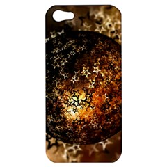 Christmas Bauble Ball About Star Apple Iphone 5 Hardshell Case by Celenk