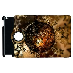 Christmas Bauble Ball About Star Apple Ipad 2 Flip 360 Case by Celenk