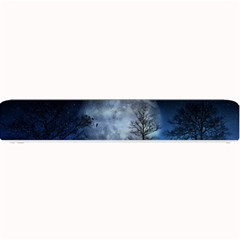 Winter Wintry Moon Christmas Snow Small Bar Mats by Celenk