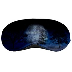 Winter Wintry Moon Christmas Snow Sleeping Masks by Celenk