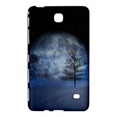 Winter Wintry Moon Christmas Snow Samsung Galaxy Tab 4 (7 ) Hardshell Case  by Celenk