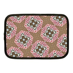 Pattern Texture Moroccan Print Netbook Case (medium)  by Celenk