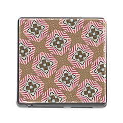 Pattern Texture Moroccan Print Memory Card Reader (square) by Celenk