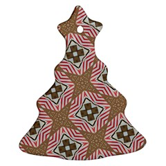 Pattern Texture Moroccan Print Ornament (christmas Tree)