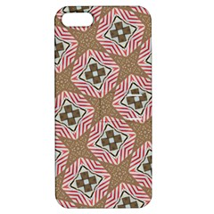 Pattern Texture Moroccan Print Apple Iphone 5 Hardshell Case With Stand by Celenk