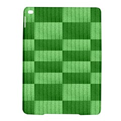 Wool Ribbed Texture Green Shades Ipad Air 2 Hardshell Cases by Celenk