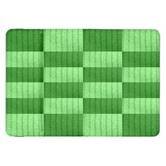 Wool Ribbed Texture Green Shades Samsung Galaxy Tab 8 9  P7300 Flip Case by Celenk