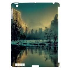 Yosemite Park Landscape Sunrise Apple Ipad 3/4 Hardshell Case (compatible With Smart Cover) by Celenk