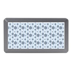 Snowflakes Winter Christmas Card Memory Card Reader (mini) by Celenk