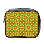 Pattern Texture Christmas Colors Mini Toiletries Bag 2-Side Front