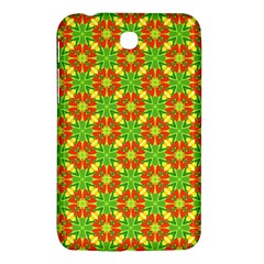 Pattern Texture Christmas Colors Samsung Galaxy Tab 3 (7 ) P3200 Hardshell Case  by Celenk