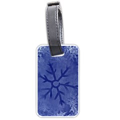 Winter Hardest Frost Cold Luggage Tags (one Side)