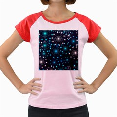 Wallpaper Background Abstract Women s Cap Sleeve T Shirt