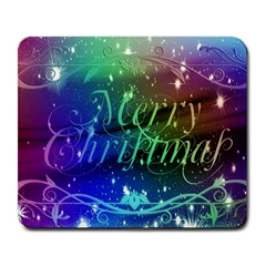 Christmas Greeting Card Frame Large Mousepads by Celenk