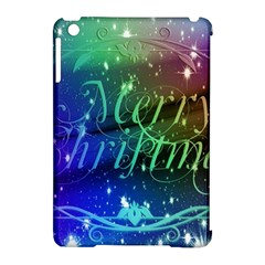 Christmas Greeting Card Frame Apple Ipad Mini Hardshell Case (compatible With Smart Cover) by Celenk