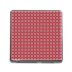 Christmas Wrapping Paper Memory Card Reader (square) by Celenk