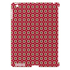 Christmas Wrapping Paper Apple Ipad 3/4 Hardshell Case (compatible With Smart Cover) by Celenk