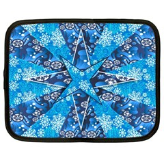 Christmas Background Wallpaper Netbook Case (xl)  by Celenk