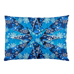 Christmas Background Wallpaper Pillow Case (two Sides)