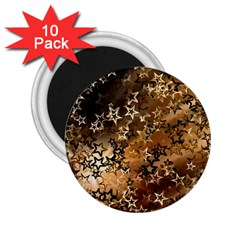 Star Sky Graphic Night Background 2 25  Magnets (10 Pack)  by Celenk