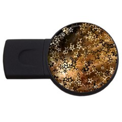 Star Sky Graphic Night Background Usb Flash Drive Round (2 Gb)