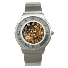 Star Sky Graphic Night Background Stainless Steel Watch by Celenk