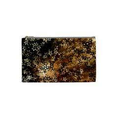 Star Sky Graphic Night Background Cosmetic Bag (small)  by Celenk