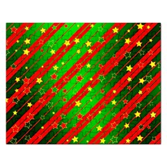 Star Sky Graphic Night Background Rectangular Jigsaw Puzzl by Celenk