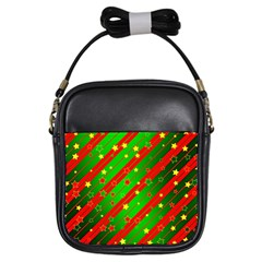 Star Sky Graphic Night Background Girls Sling Bags by Celenk