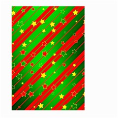 Star Sky Graphic Night Background Large Garden Flag (two Sides) by Celenk