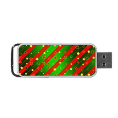 Star Sky Graphic Night Background Portable Usb Flash (two Sides) by Celenk