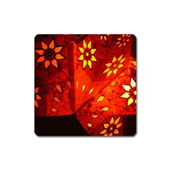 Star Light Christmas Romantic Hell Square Magnet by Celenk