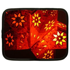 Star Light Christmas Romantic Hell Netbook Case (large)