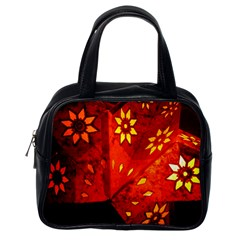 Star Light Christmas Romantic Hell Classic Handbags (one Side)